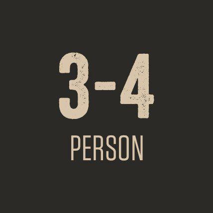 3-4 Person