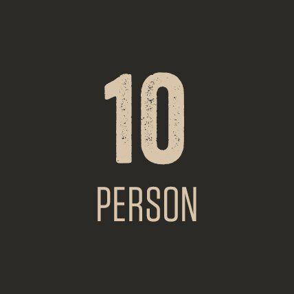 10 Person