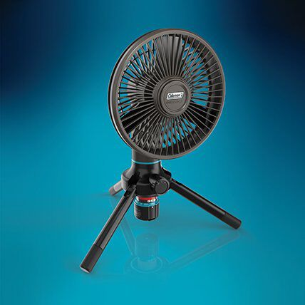 rechargeable battery powered outdoor fan