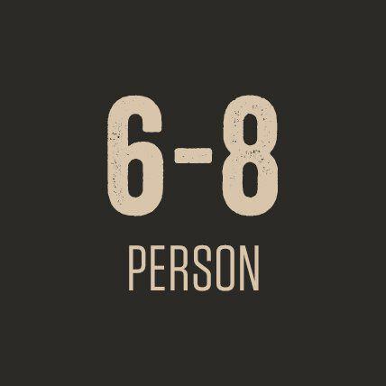 6-8 Person