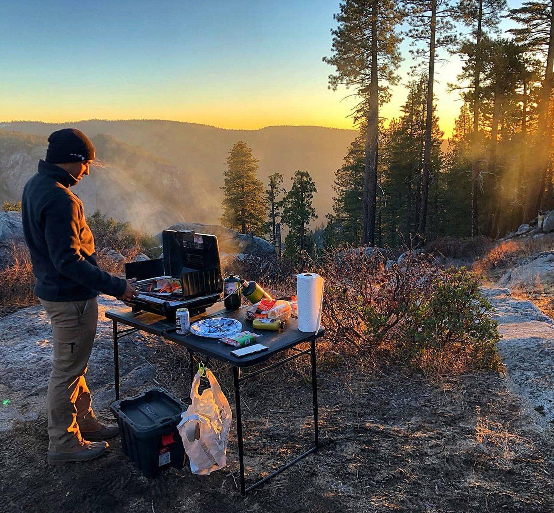 Portable signature grill