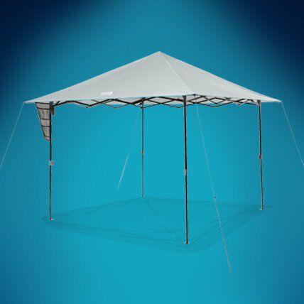 lit canopy shelter