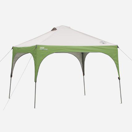 green canopy assembled