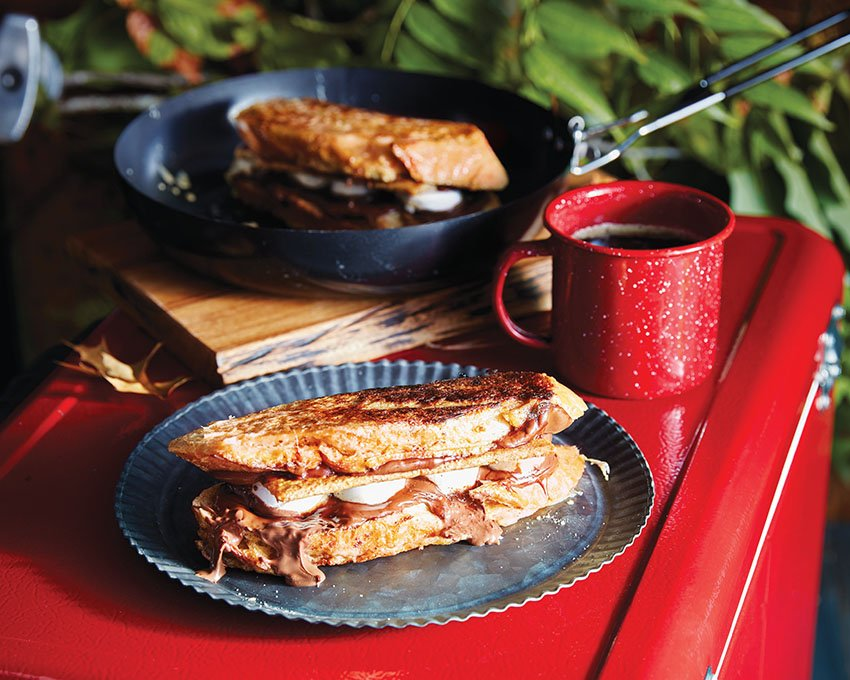 S'mores French Toast Sandwiches